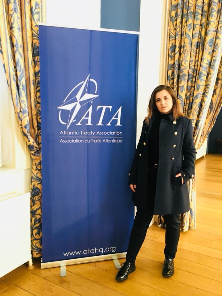 Atlantic Treaty ATA HQ Ina Ivanova