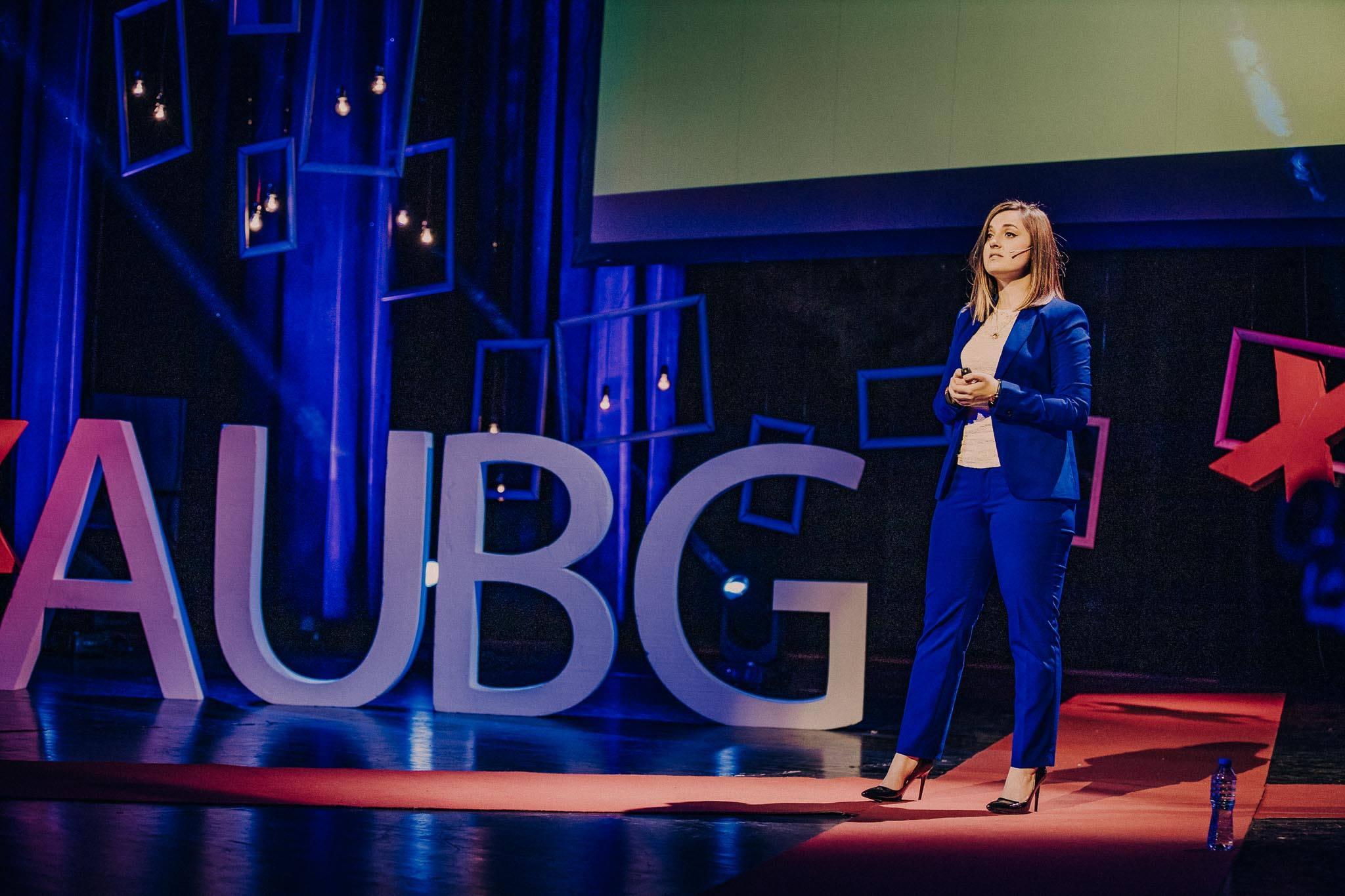 Ina Ivanova TEDx Speaker