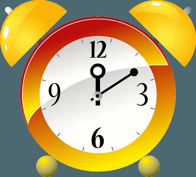 жълт нарисуван часовник как да изградите нов навик само за една минута