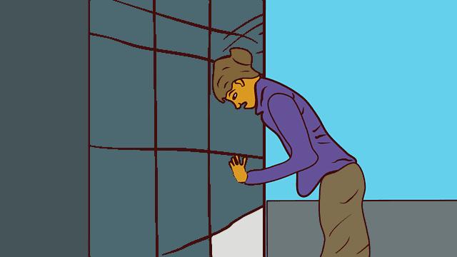 как да преодолеем депресята след отпуск анимация на депресирана жена