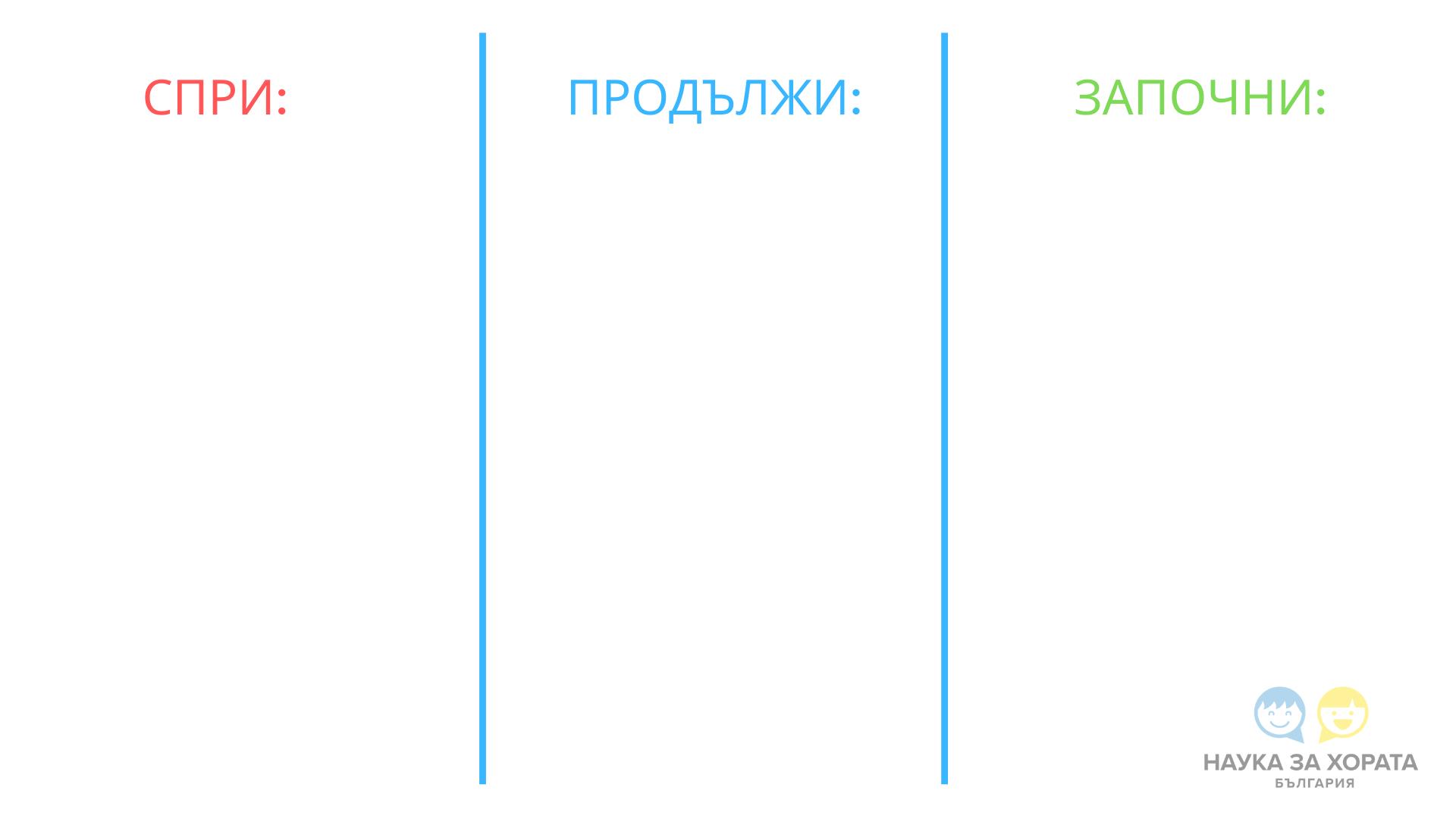 таблица планиране на времето
