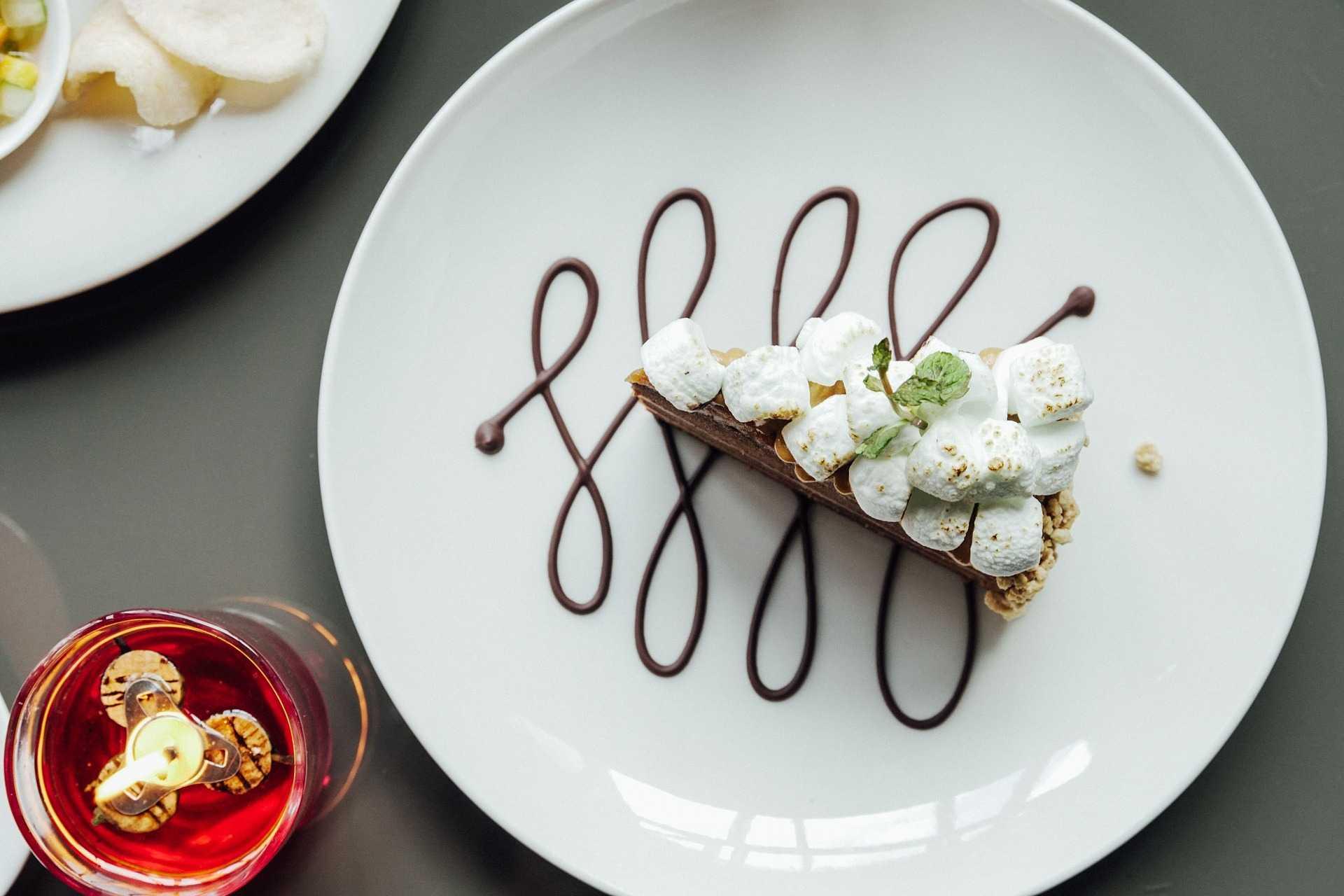 торта с маршмелоу
